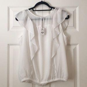 White Express blouse